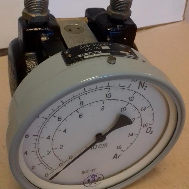 Дифманометр ДСП-Ус 160; 250; 400; 630; 1000; 1600 См