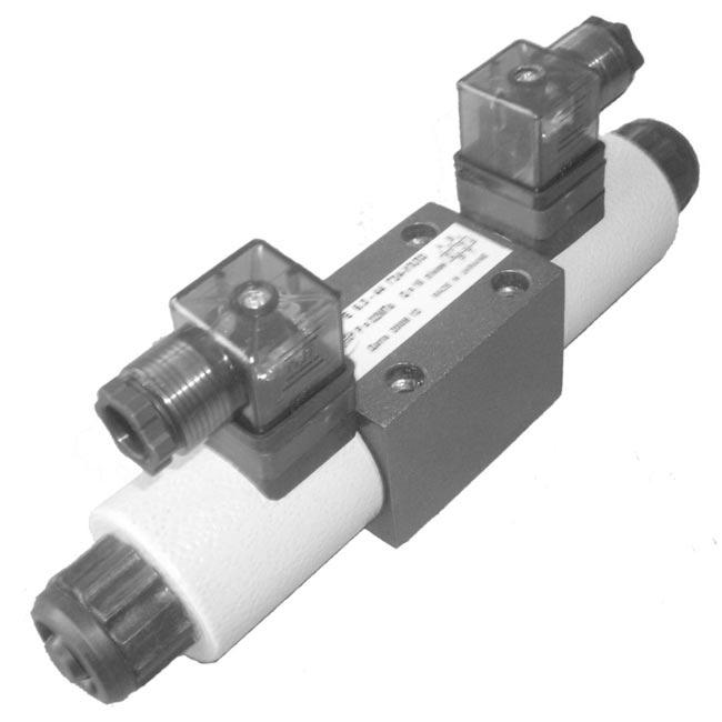 Гидрораспределители с электромагнитным управлением РЕ 6.3