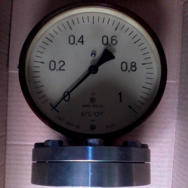 Манометр ММП-160-Кс, вакууметр ВМП-160-Кс и мановакууметр МВМП-160-Кс