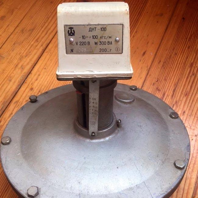 Датчики-реле напора тяги  ДНТ-100