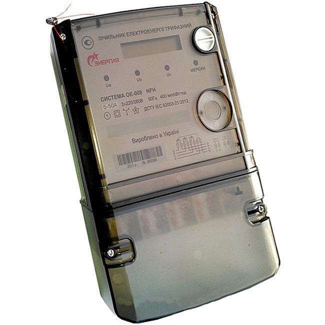 Электросчетчики многотарифные Система ОЕ 008
