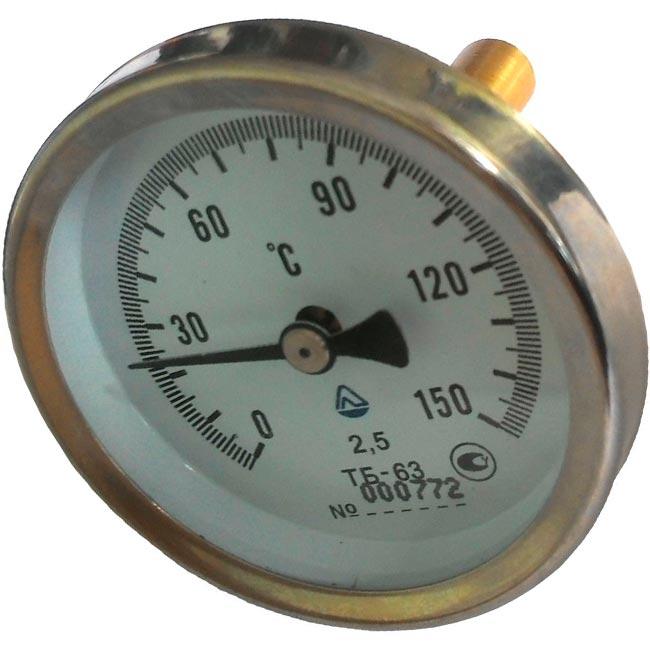Термометр биметаллический ТБ-63; ТБ-100; ТБТ-63; ТБИ-25