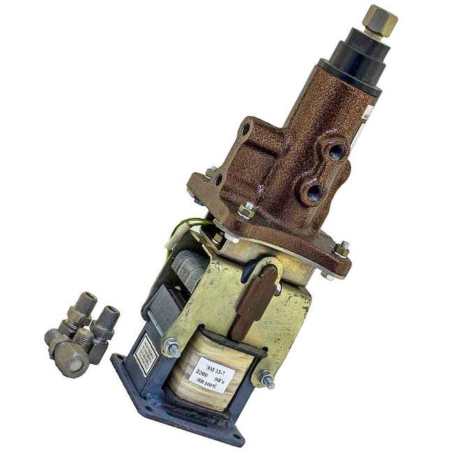 Клапан электромагнитный трехходовой КЭТ-16