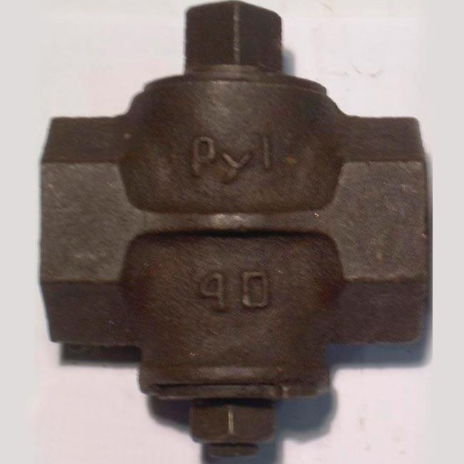 Кран пробковый натяжной чугунный 11ч3бк Ру1 для топливного газа Ду 25; 32; 40; 50; 65; 80