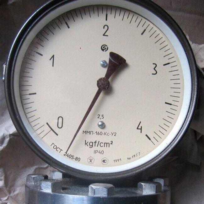 Манометр ММП-160-Кс