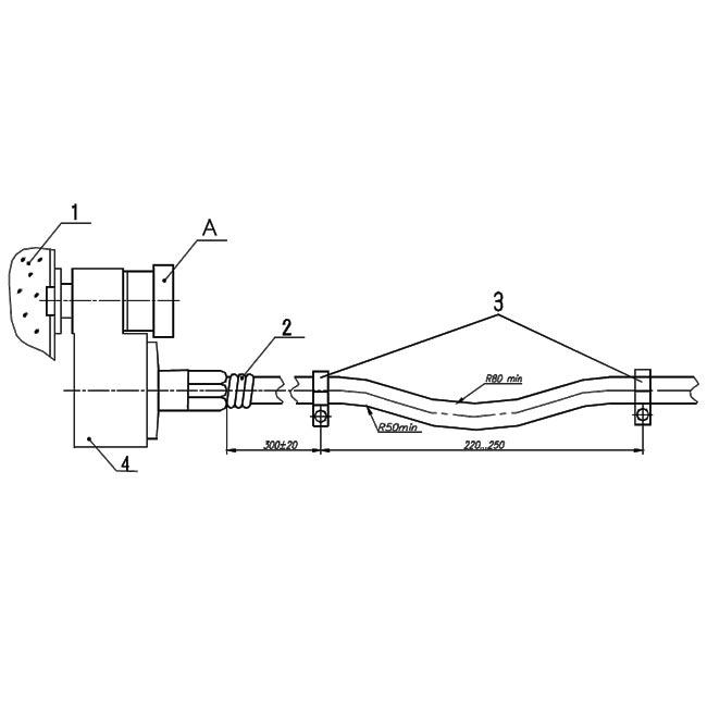 Монтаж дистанционной системы манометров МТП-60